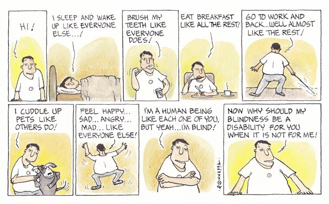 In association MiD DAY, and cartoonist, N. Ponnappa... YOU & EYE